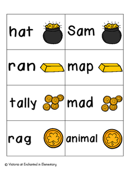 Leaping Leprechaun Phonics: Short A Pack