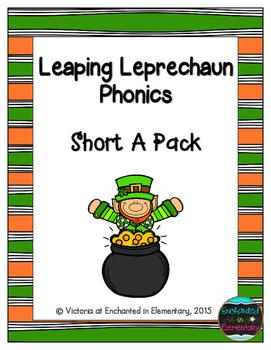 Leaping Leprechaun Phonics: Short A Pack