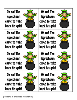 Leaping Leprechaun Phonics: Short E Pack