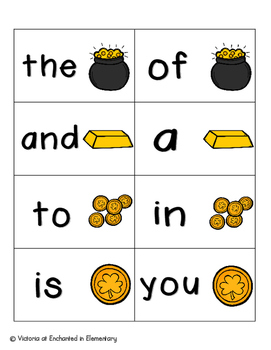 Leaping Leprechaun Sight Words! Fry List 1