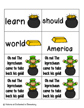 Leaping Leprechaun Sight Words! Fry List 2