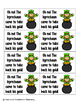 Leaping Leprechaun Sight Words! Pre-Primer List Pack