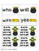 Leaping Leprechaun Sight Words! Primer List Pack