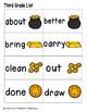Leaping Leprechaun Sight Words! Third Grade List Pack