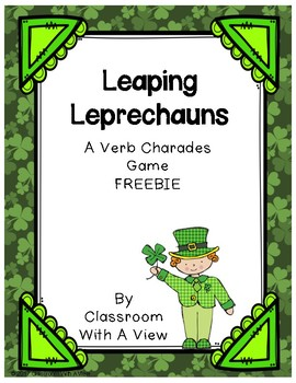 Leaping Leprechaun Verb Charades
