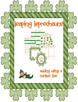 Leaping Leprechauns Adding with a Number Line