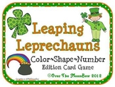 Leaping Leprechauns Color - Shape - Number Words Game