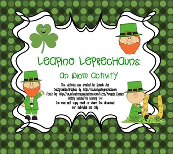 Leaping Leprechauns: Idioms