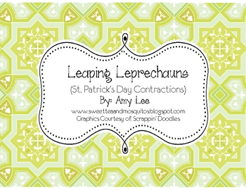 Leaping Leprechauns (St. Patrick's Day Contractions)