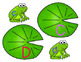 Leaping Letters {matching uppercase to lowercase alphabet