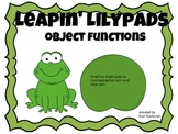 Leaping Lily Pads: Object Functions