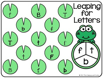 Leaping for Letters (Letter ID Game)