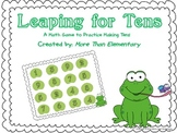 Leaping for Tens Math Game - Adding Numbers to Make 10