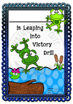Leaping in to Victory Drill!