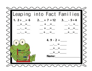 Leaping into Fact Families