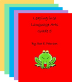 Leaping into Language Arts: Grades 1 - 5 Collection