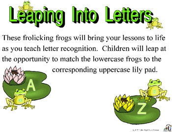 Leaping into Letters