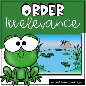 Order Irrelevance {activity/assessment}