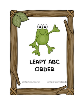 Leapy ABC Order
