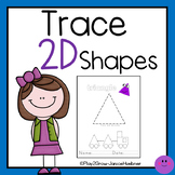 Trace 2D Shapes and Make a Shapes Train