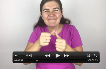 "Learn ASL Through Music! Tutorial For ""For All The World's Children"""