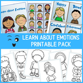 Learn About Emotions Cards for Kids