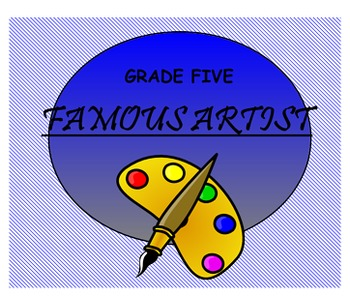 Learn About Famous Artists!