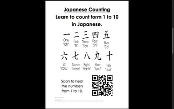 Learn About Japan QR Pack