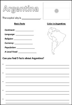 Learn About South America