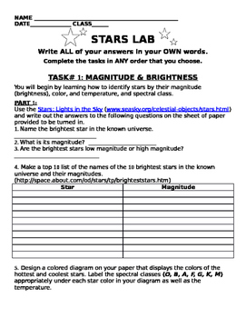 Learn About Stars