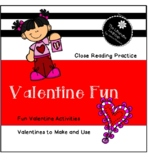 Learn About Valentine's Day  Reading and Fun 2nd and 3rd Grades
