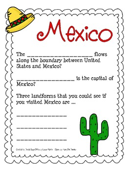 Learn About...Mexico