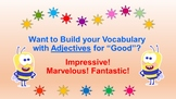 """Learn Adjectives for """"Good"""" with a Fruit Basket Bingo!"""