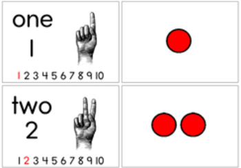 Learn-Along Counting Cards