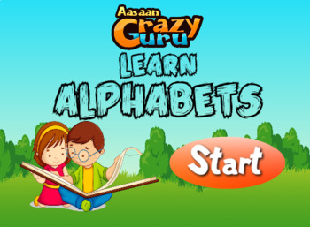 Learn Alphabets - English Alphabets with Audio Interactive Flash file