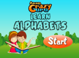 Learn Alphabets - English Alphabets with Audio Interactive