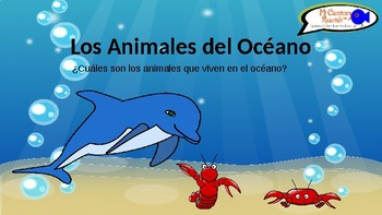 Learn Animals of the Ocean in Spanish! (Presentation with Q&A)