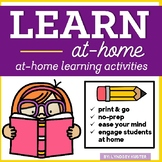 Learn At Home (Engaging Activities for Home Learning) | Di