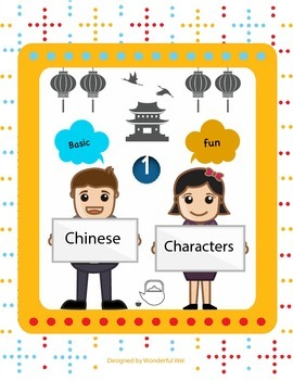 Learn Basic Chinese Characters- part 1