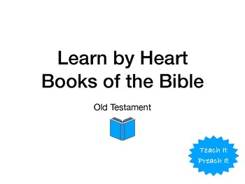Memorize Books Of Bible Worksheets & Teaching Resources | TpT