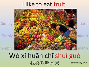 Learn Chinese: I like to eat---(1)