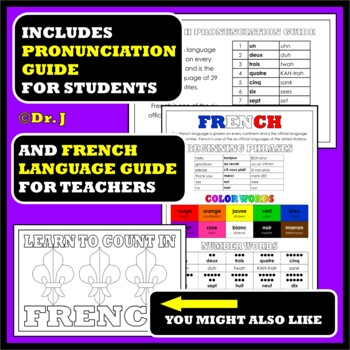 FRENCH: Our Colorful World in French