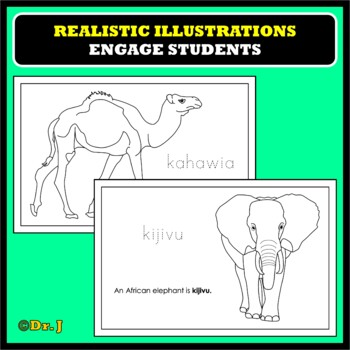Learn Color Names in SWAHILI