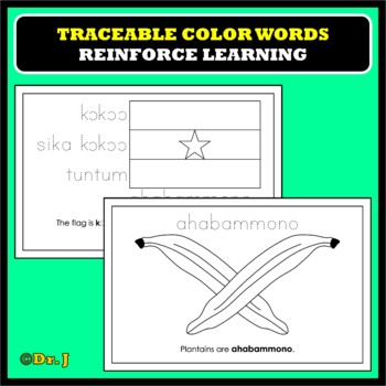 Learn Color Names in TWI
