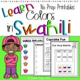 Learn Swahili : Colors