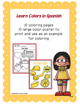 Learn Colors in Spanish
