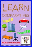 Learn Comparatives (er, ier, more)
