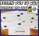 Dot To Dot Learning Worksheets Autism, ABA