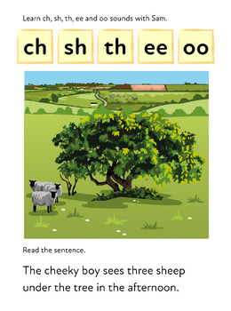 Learn Double Blend Phonic Letter Sounds (ch, sh, th) Learn To Read With Phonic