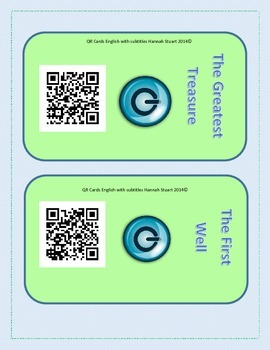 Learn English or Reading Skills with QR Codes and Online Resources